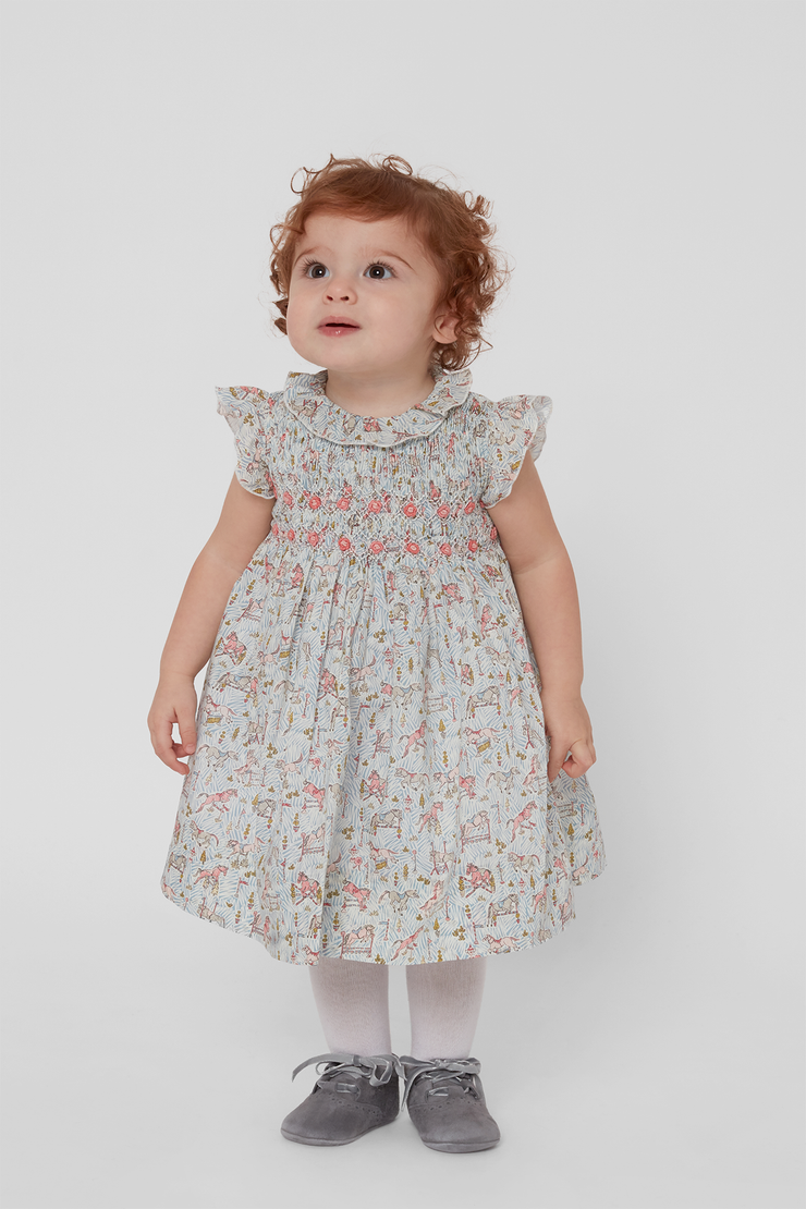 Baby Girl - Monica 100% Cotton liberty dress