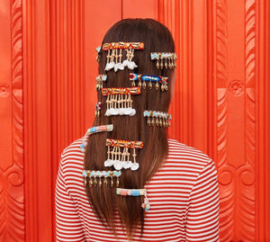 Mermaid Fringe Barrette