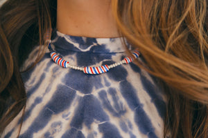 Candy Stripe Necklace