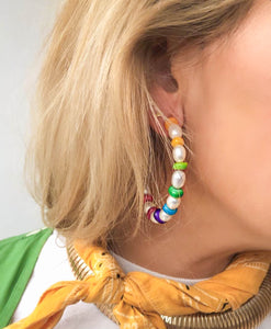 Double-take Hoop Earrings