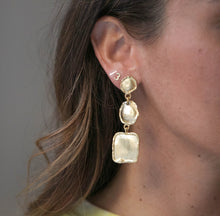 Load image into Gallery viewer, Go For Gold Earrings