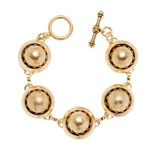 Golden Baubles Bubble Bracelet