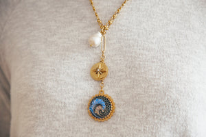 Making Waves Y-Necklace