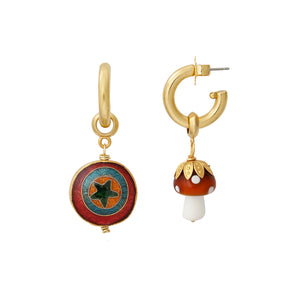 Psychedelic Earring Charm