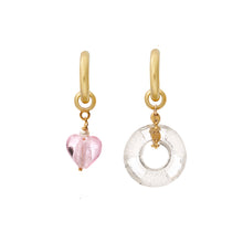 Load image into Gallery viewer, Chained Donut Earring Charm