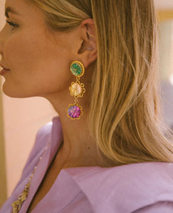 Sangria Earrings
