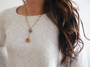 Sangria Y-Necklace