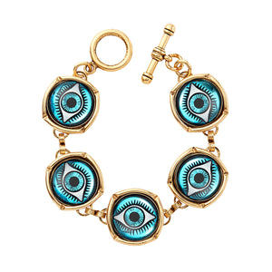 Watchful Eye Bubble Bracelet