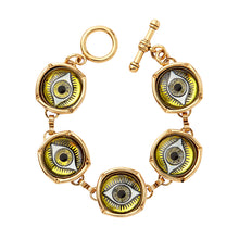 Load image into Gallery viewer, Watchful Eye Bubble Bracelet