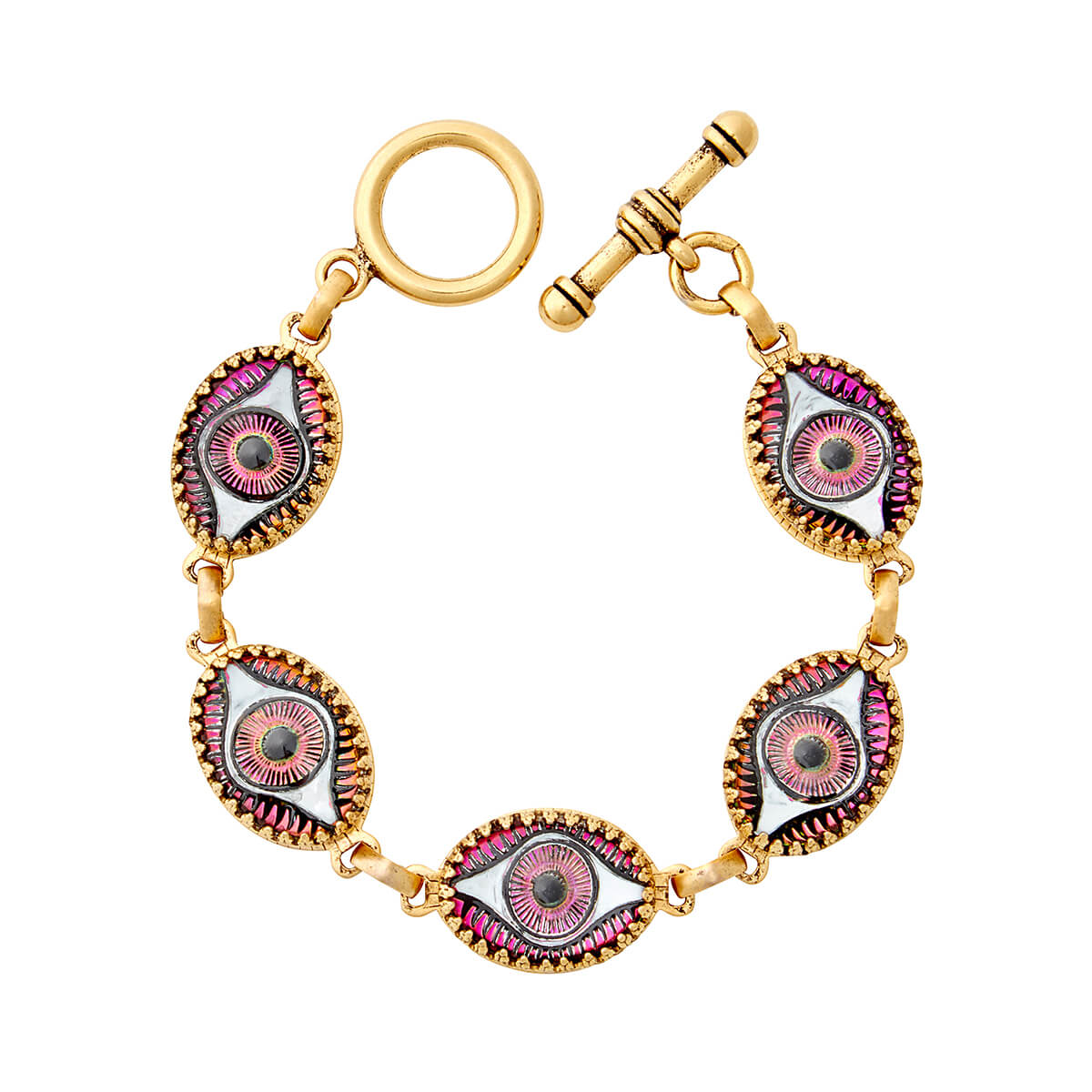 Watchful Eye Oval Bracelet
