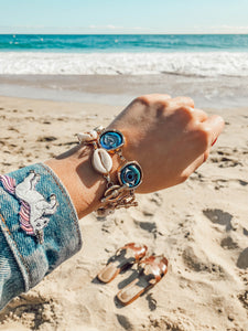 Watchful Eye Bubble Bracelet & All Summer Long Bracelet