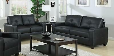 Sofa & Loveseat - Black or Brown (3836461744202)
