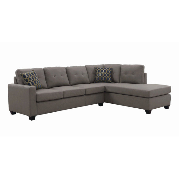 Taupe Sectional (3836461514826)