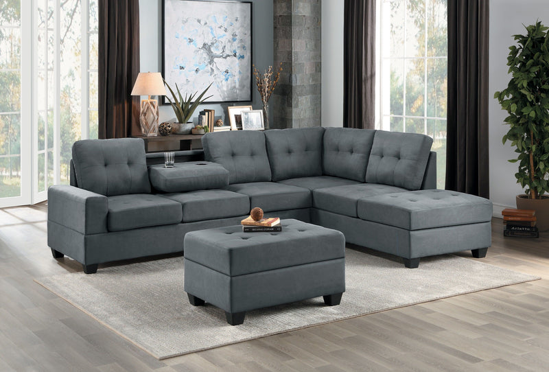 Grey Sectional Sofa @ Mattress Clearance USA in Pensacola