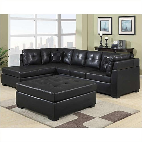 Black Sectional SOfa @ Mattress Clearance USA Pensacola Mattress & Furniture Store