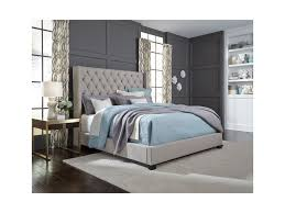 West Queen or King Upholstered Bed Frame (4333442170954)