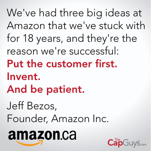 The Cap Guys Launches on Amazon.ca