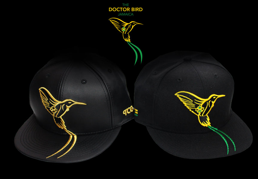The Cap Guys launches The Doctor Bird - Jamaica Black and Gold Version