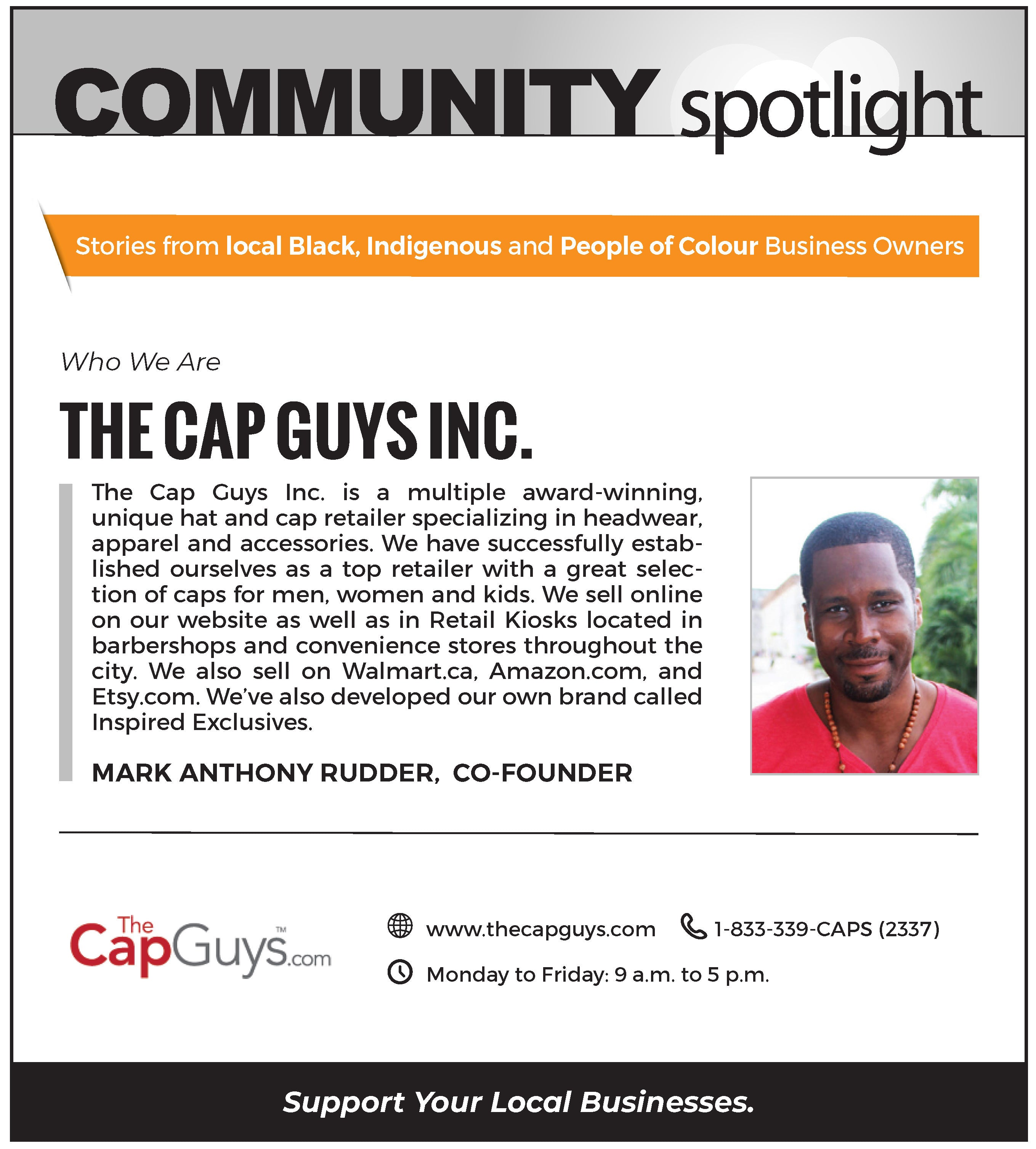 Toronto Star - The Cap Guys - Feature