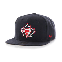 Load image into Gallery viewer, 47 Brand Toronto Blue Jays No Shot '47 Captain Navy Blue Snapback Cap