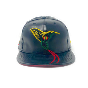 The Doctor Bird - Jamaica - The Cap Guys TCG / Inspired Exclusives PU Rasta Edition Strapback