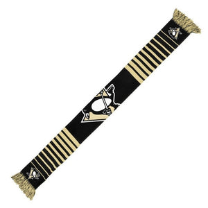 Pittsburgh Penguins Big Logo Knit Scarf - Size One Size