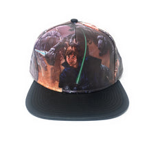 Load image into Gallery viewer, Bioworld Licensed Star Wars - Printed Scene PU Brim Snapback Hat