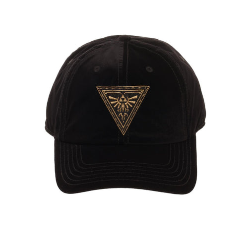 Bioworld Licensed The Legend of Zelda Velvet Curved Brim Black Snapback Hat