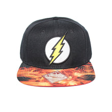 Load image into Gallery viewer, Bioworld Licensed Flash Sublimated Brim Snapback Hat