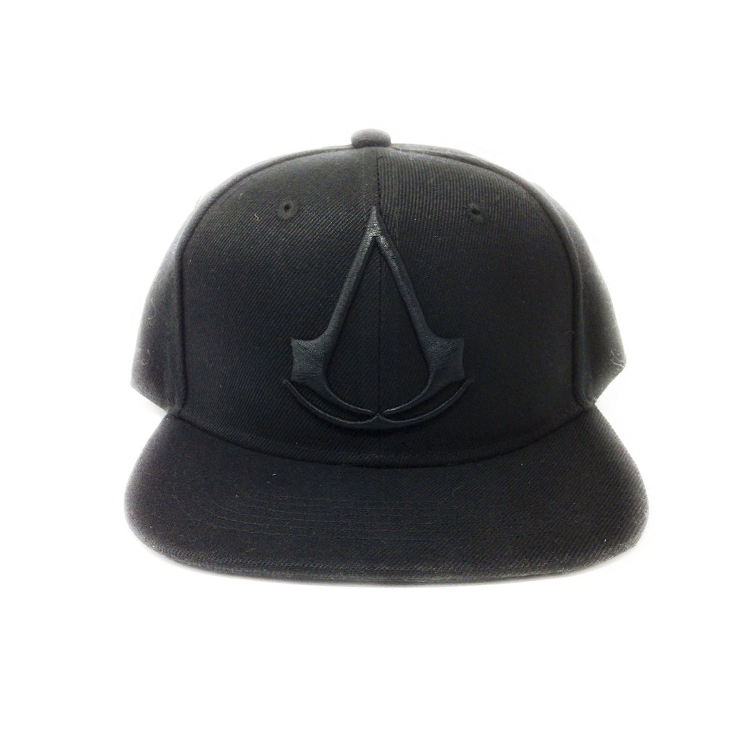 Assassin's Creed Logo - 3D Embroidery - Black Snapback Hat