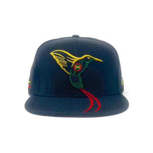 The Doctor Bird - Jamaica - The Cap Guys TCG / Inspired Exclusives Rasta Edition Snapback
