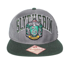 Load image into Gallery viewer, Bioworld Licensed Harry Potter Slytherin Crest Snapback Hat