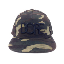 Load image into Gallery viewer, Dope Classic Logo Camouflage Snapback Hat
