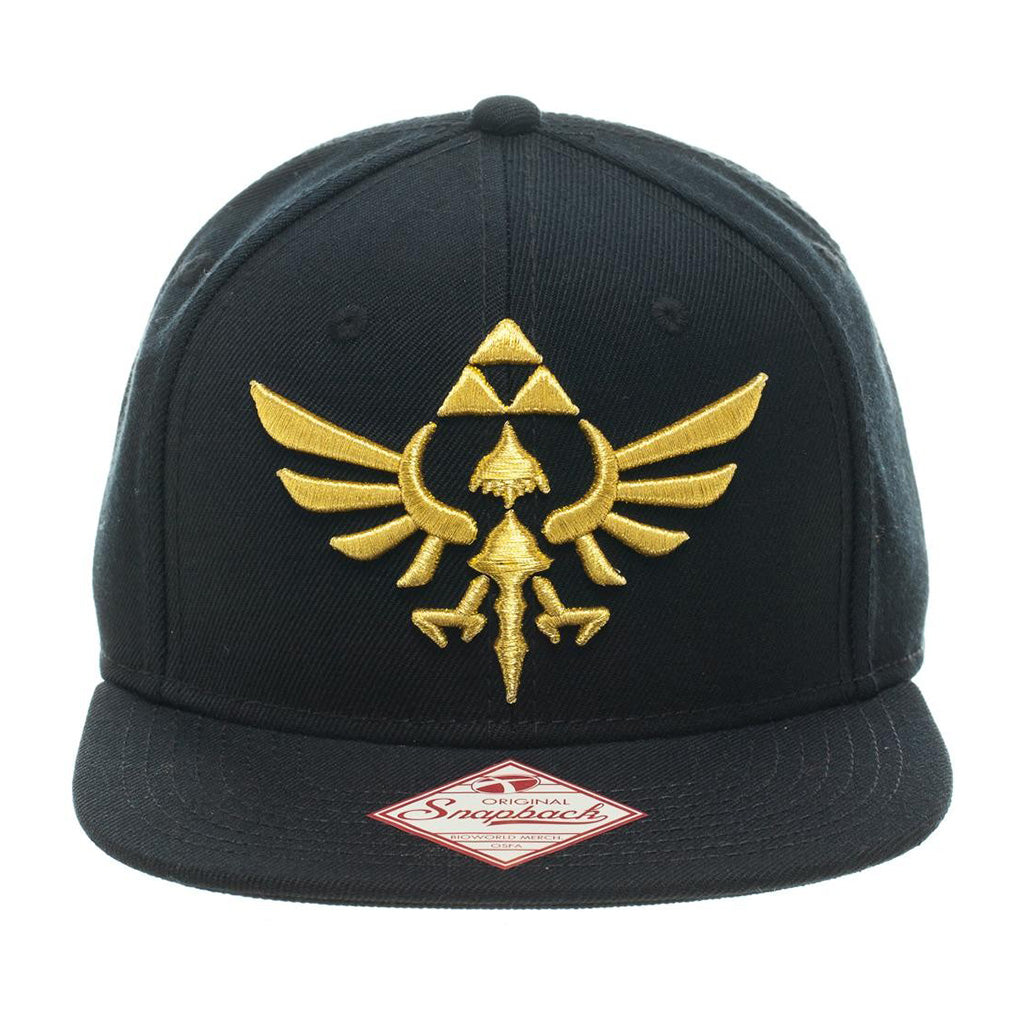Bioworld Licensed Nintendo Legend Of Zelda Logo Snapback Hat