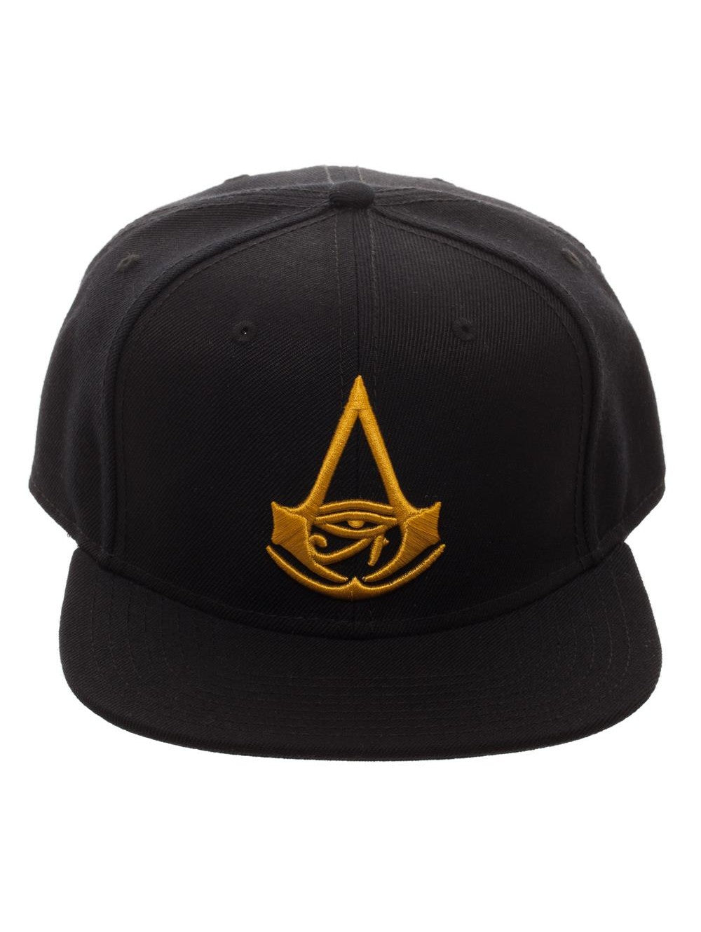 Bioworld Licensed Assassins Creed - Origins - Core Logo Black Snapback Hat