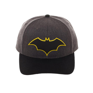 Bioworld Licensed Batman Rebirth Embroidery Black/Grey Snapback Hat