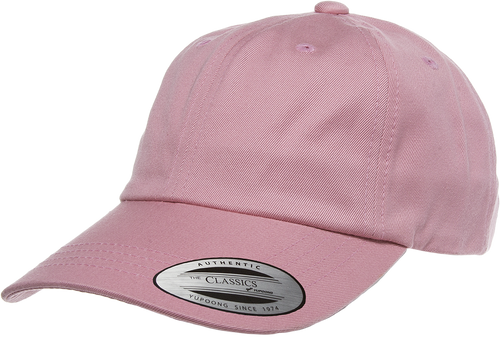 Flexfit 6245CM Pink Low Profile Cotton Twill Dad Hat