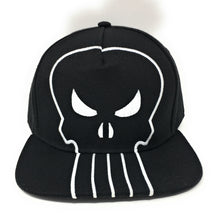 Load image into Gallery viewer, Punisher - Logo White/Black Snapback