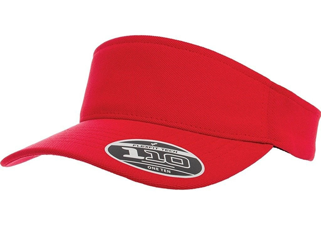 Flexfit 110 Red Visor