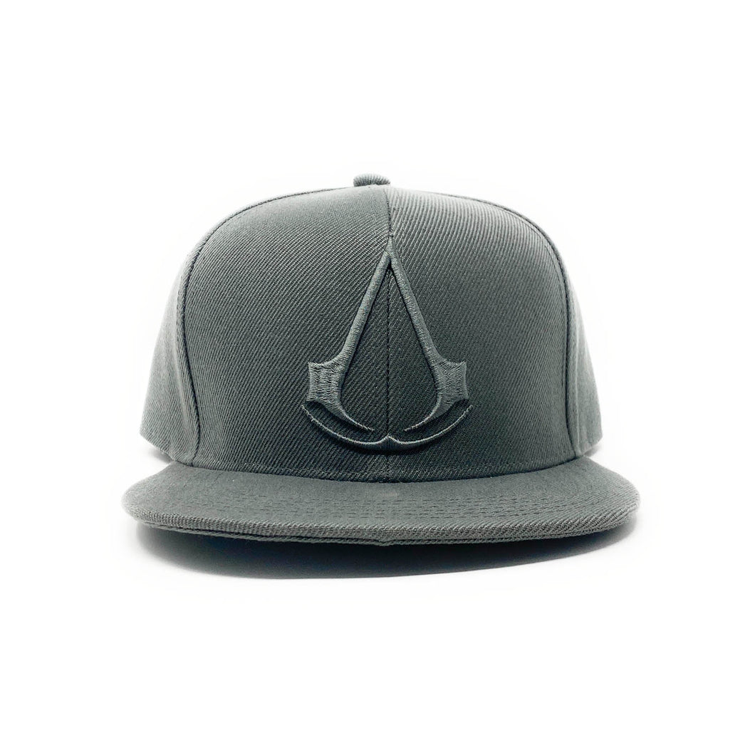 Assassin's Creed Logo - 3D Embroidery - Cool Grey Snapback