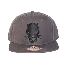 Load image into Gallery viewer, Bioworld Licensed Black Panther - Core Line Icon Snapback Hat