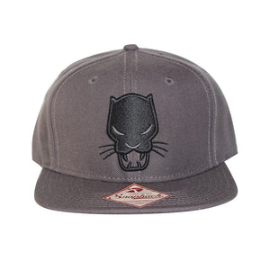 Bioworld Licensed Black Panther - Core Line Icon Snapback Hat