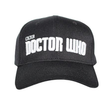 Load image into Gallery viewer, Bioworld Licensed BBC Doctor Who - Curved Sublimated Stretch Fit Hat