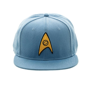 Bioworld Licensed Star Trek - Core Line Blue Snapback Hat