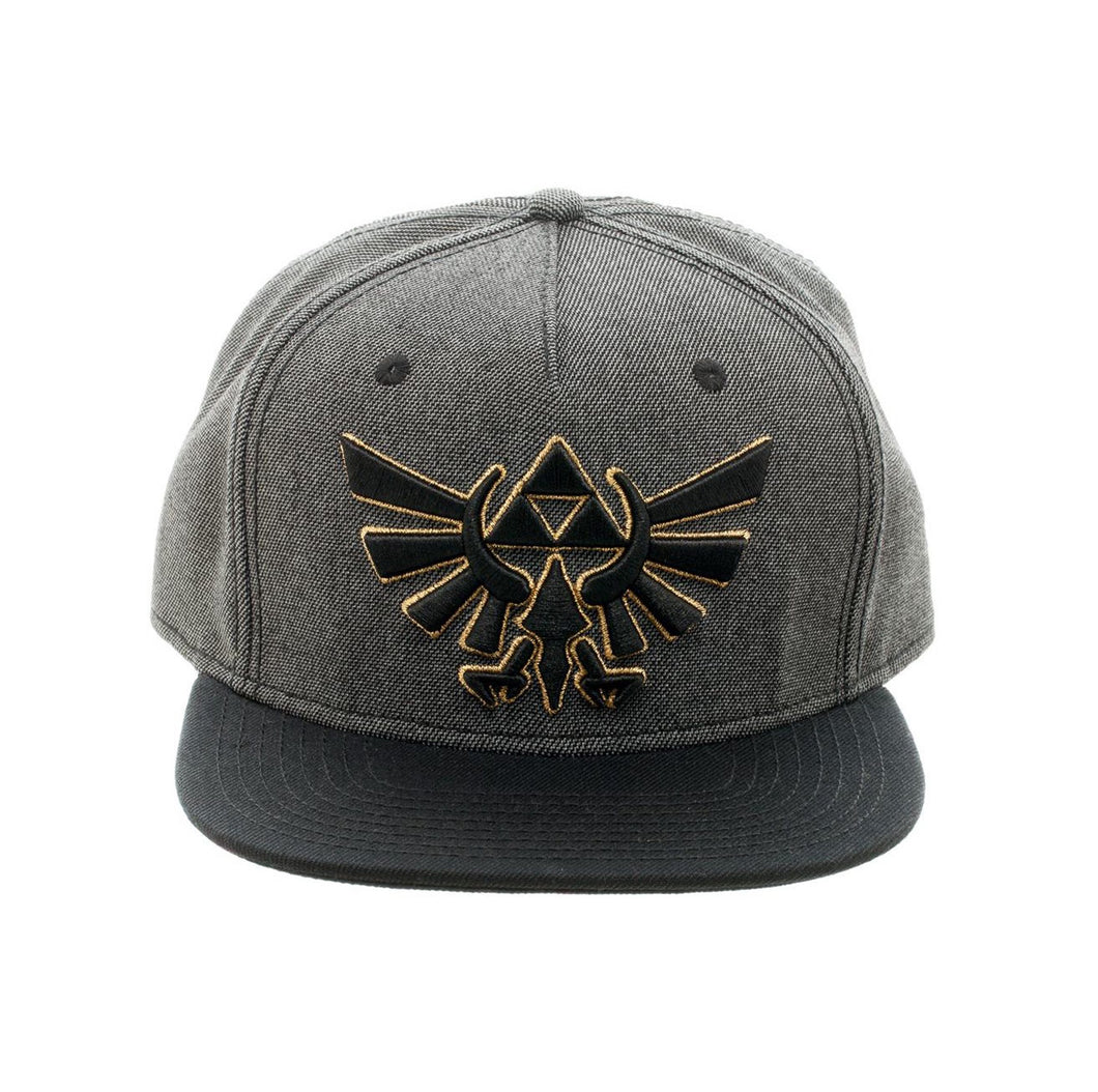Bioworld Licensed The Legend Of Zelda Grey/Black Snapback Hat