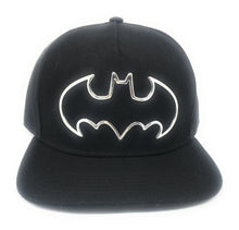 Load image into Gallery viewer, Batman - Sonic Weld Logo Black Snapback Hat