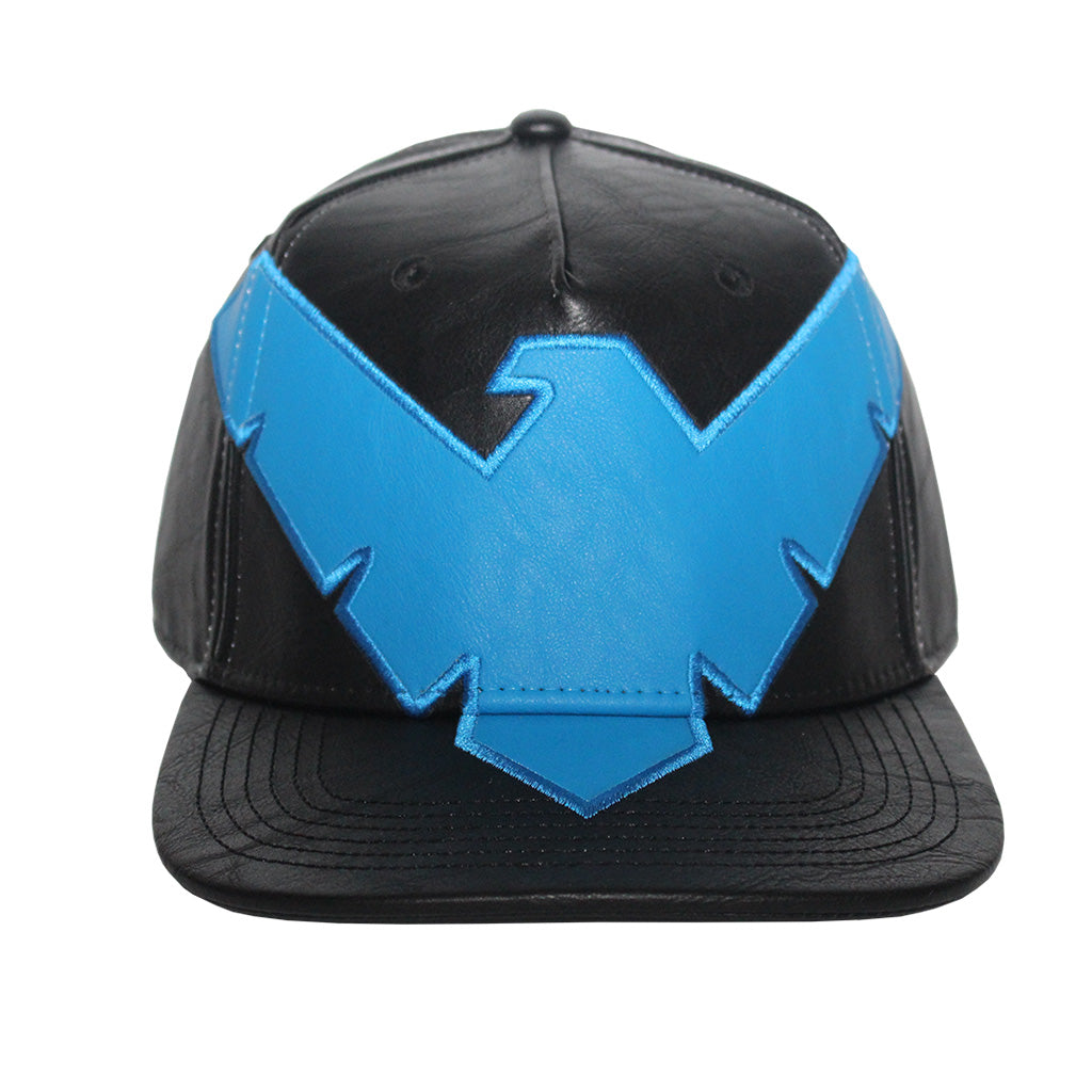 Bioworld Licensed DC Comics Nightwing Suit Up PU Leather Snapback Hat