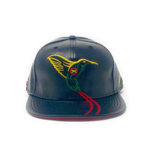 The Doctor Bird - Jamaica - The Cap Guys TCG / Inspired Exclusives PU Rasta Edition Snapback