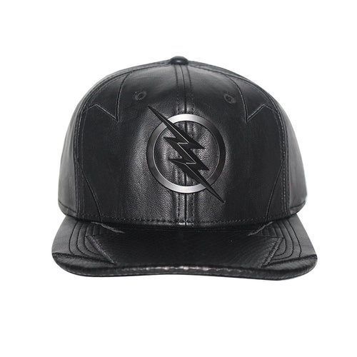 Bioworld Licensed DC Comics Flash TV - Zoom Suit Up Metal Icon PU Leather Snapback Hat