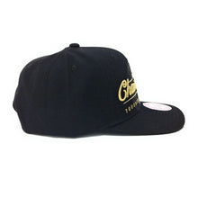 Load image into Gallery viewer, Mitchell and Ness Toronto Raptors - 2019 Champions Script - Black/Gold Snapback Hat